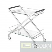BERMUDA Bar Cart Silver