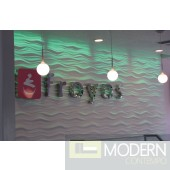 TEXTURED SURFACE CUSTOM 3D WALL SURFACE  PANEL MDF-Wave