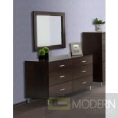 Modrest Bravo Modern Wenge Mirror