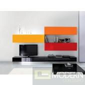 Modern Contemporary Entertainment Wall Unit Center