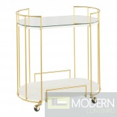 Dazzle Me Bar Cart GOLD