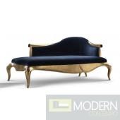 Caprice Velvet Baroque Chaise Sofa
