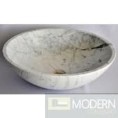 White Carerra Stone Vessel