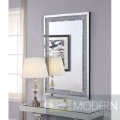 Anna Maria Mirror with Faux Diamonds