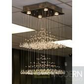Modrest CK00988-4 Hanging Crystal Ceiling Light