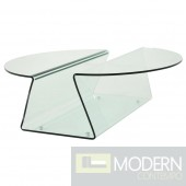 VOLTAIRE Glass Coffee Table