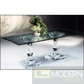 Zinotti Corithian Acrylic Dining Table