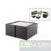 Renava Cube Outdoor Dining Set
