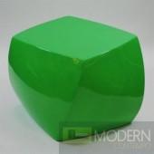 Cube Ottoman, Green