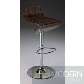 Dakota Tiger Wood Barstool