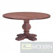 Hastings Round Rustic Dining table
