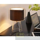 Alessio 7004 Clear Brown Table Lamp