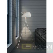 Modrest 7008 - Modern White Floor Lamp