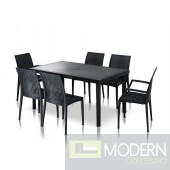 Modrest Bistrot - Patio Dining Table Set