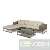 Renava Limba - Modern Patio Sectional Sofa