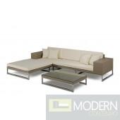 Renava Limba - Modern Patio Sectional Sofa