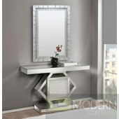 Lucas Mirrored Console Table