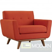 Engage Fabric Armchair RED
