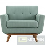 Engage Fabric Armchair Laguna blue