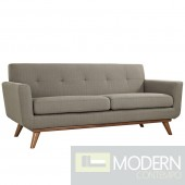 Engage Fabric Loveseat Granite