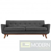 Engage Upholstered Sofa Dark grey