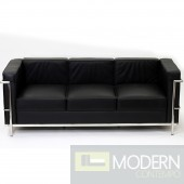 LC2 Le Corbusier Petit Sofa in Genuine Leather