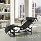 Le Corbusier Black Chaise Lounge