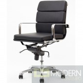 Eden Lowback Office Chair in Vinyl