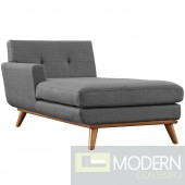 Engage Fabric Chaise Beige