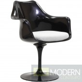 Saarinen Tulip ArmChair - Black