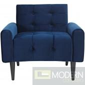Dolce Vita Velvet Armchair