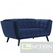 Velutto Velvet loveseat