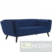 Blue Velutto Velvet Sofa