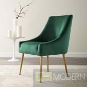 Emilia Upholstered Performance Velvet Dining Chair