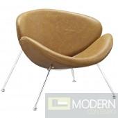 Nutshell Lounge Chair Tan