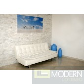 Ella - Modern Leather Sofa Bed