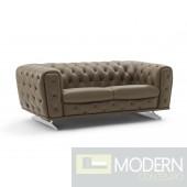 Elsa Modern Sofa, Clove Mocha