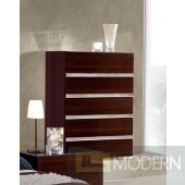 Modrest Excalibur Italian Modern Ebony Lacquer Chest