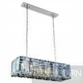 "40"" Iceberg Collection Pendant Lamp Polished Nickel Finish"