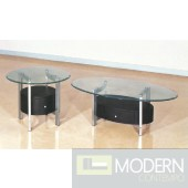 Pictured with Karina Glass Coffee Table