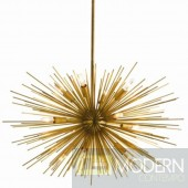 ARTERIORS Home Zanadoo 12 Light Large Chandelier - Antique Brass