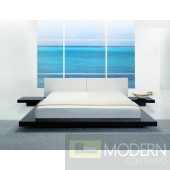 Modrest Opal - Low Profile Wenge Platform Bed