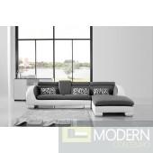 Divani Casa 816 Mini - Modern Leather Sectional Sofa