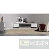Brighton Mini - White Entertainment Center