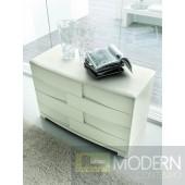 SMA Trendy White Ash Dresser