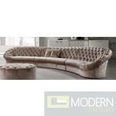 Divani Casa Cosmopolitan - Modern Fabric Sectional Sofa