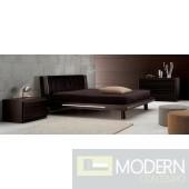 SMA Matrix Ebony - Cal. King Bed Only - Made in Italy