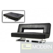 Divani Casa Wilshire - Modern Fold-Out Eco-Leather Sofa Bed