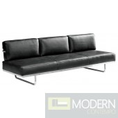 Flat Lc5 Sofa Bed, Black