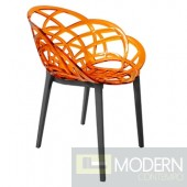 Trans. orange seat, anthracite base